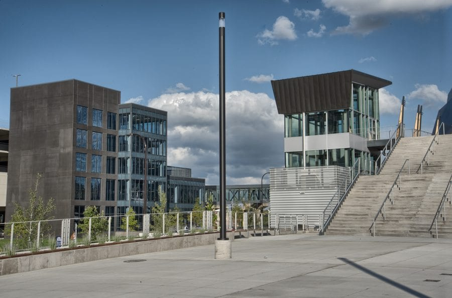 US Bank West Plaza Project in StormTrap Stormwater Management Video
