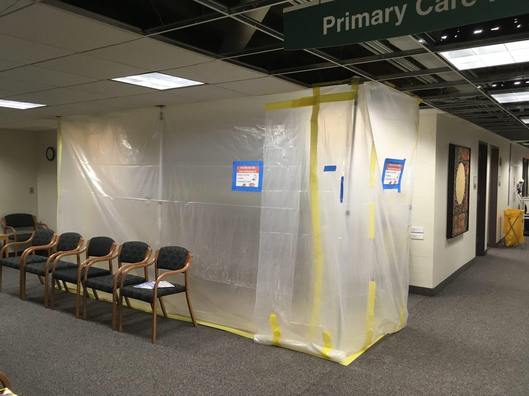 Progress at UMN's Boynton Health Services Building