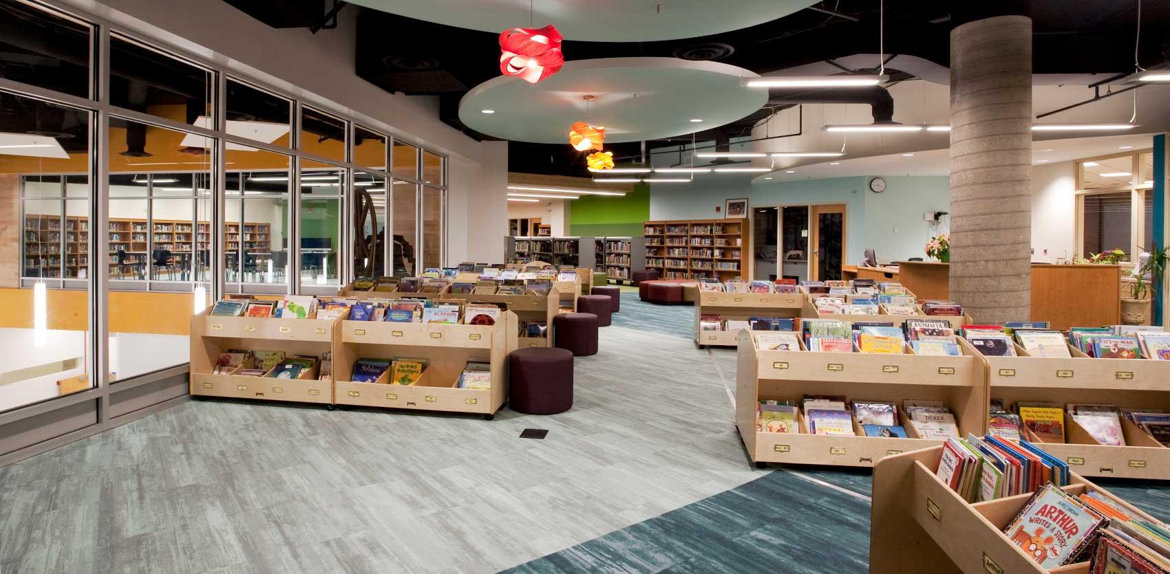 Andersen United Community School Media Center