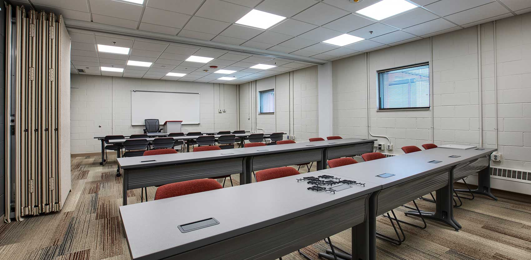 Council_Bluffs_Army Reserve Center Training Room