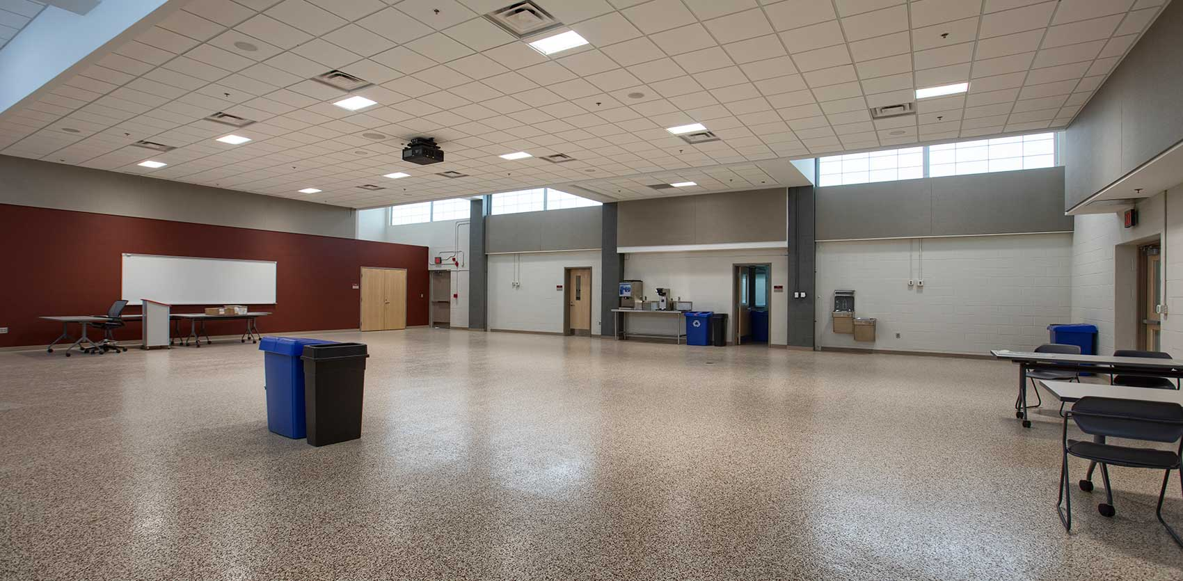 Council_Bluffs_Army Reserve Center Lunch Room