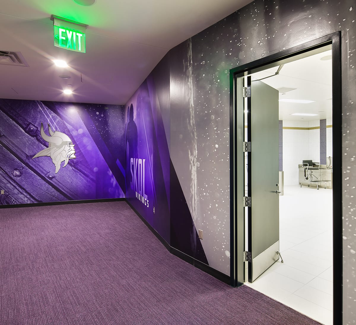 US Bank Stadium Interior Modifications