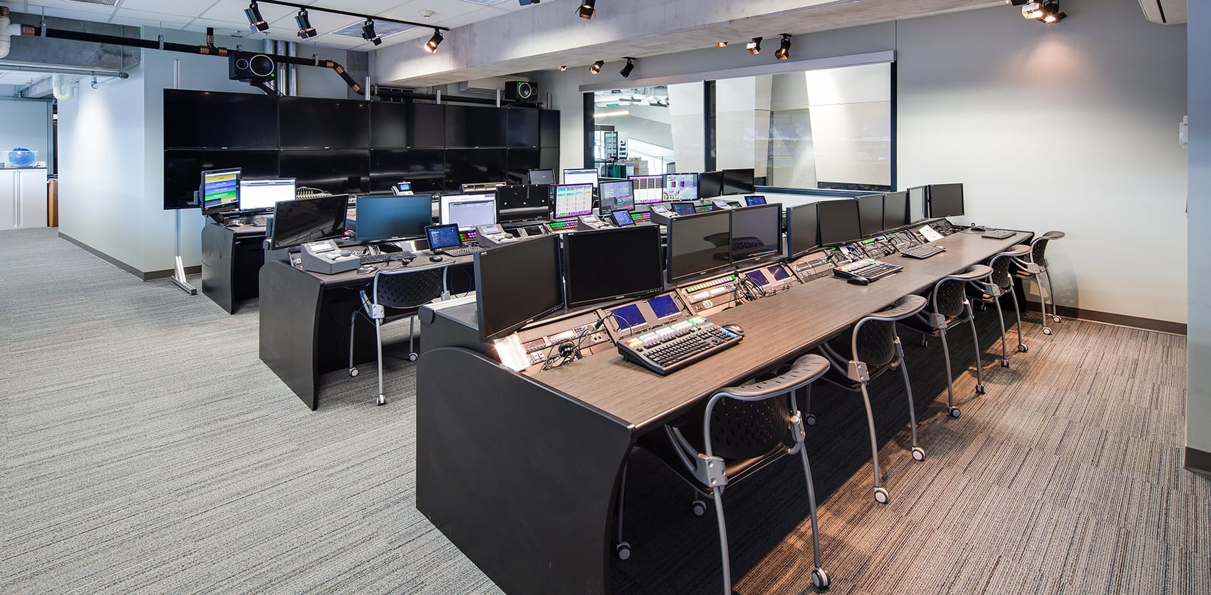 US Bank Stadium Video Production Room Renovation