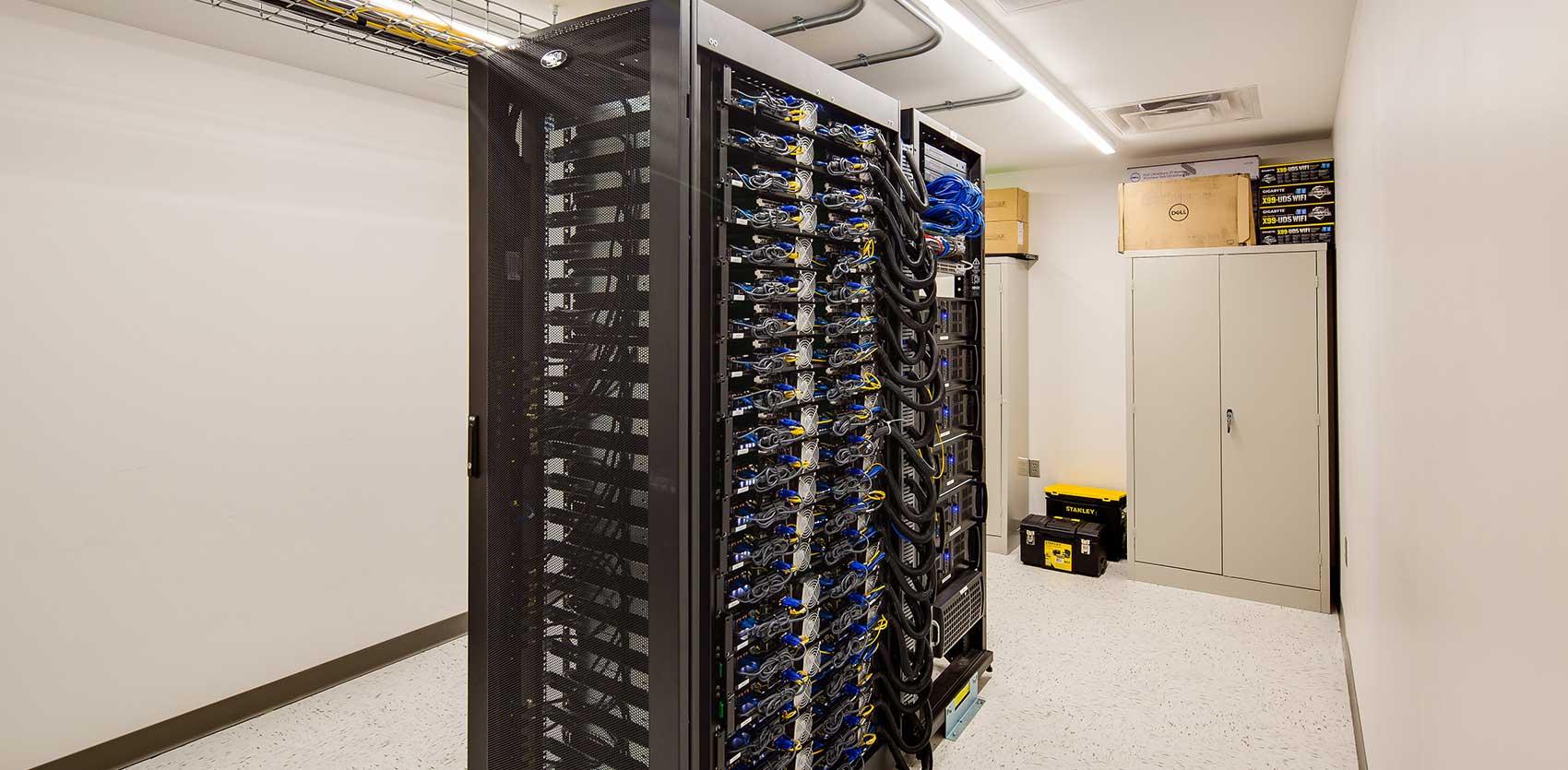 US Bank Stadium Intel Control Room