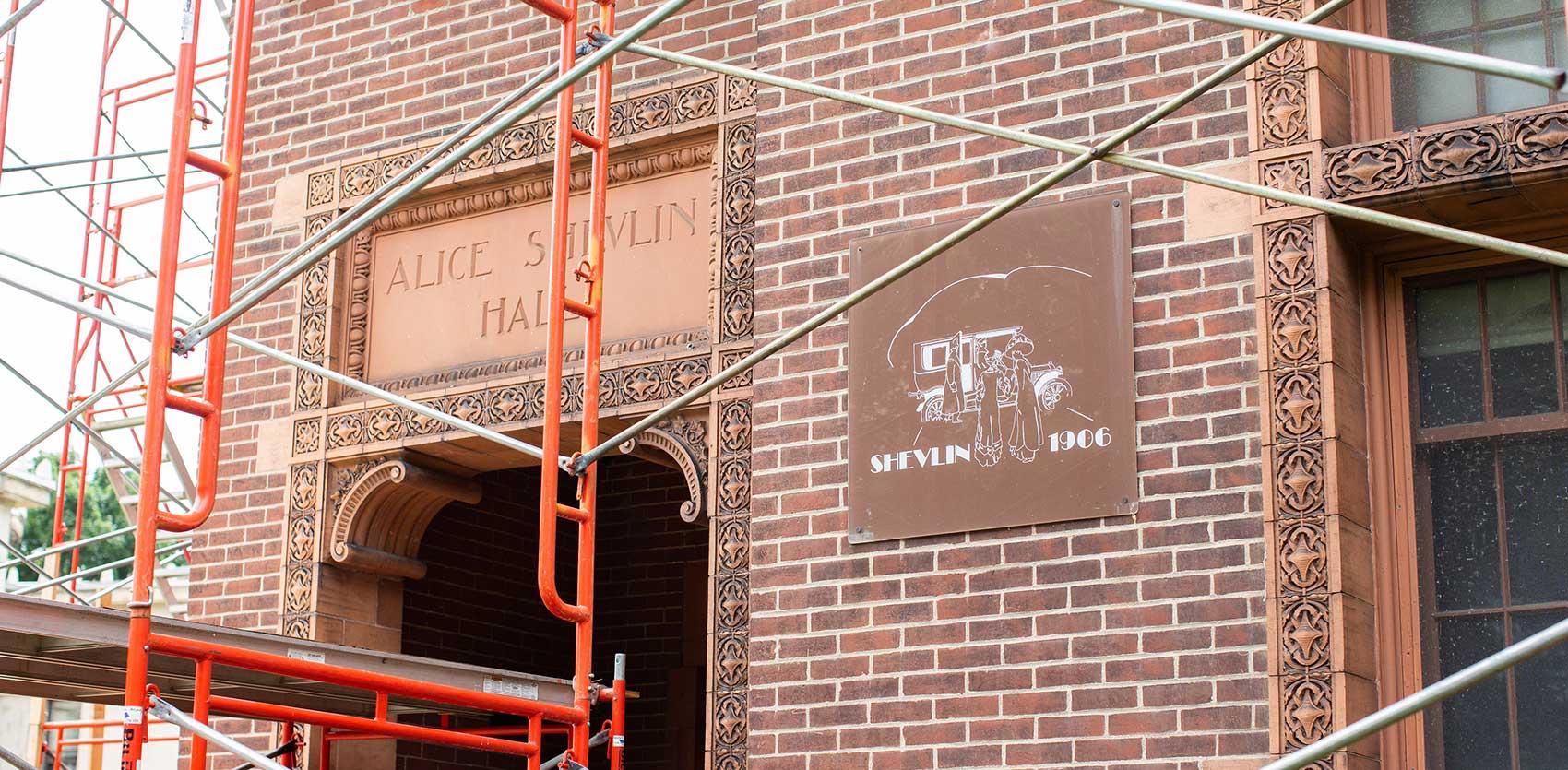University of Minnesota Shevlin Hall Restoration