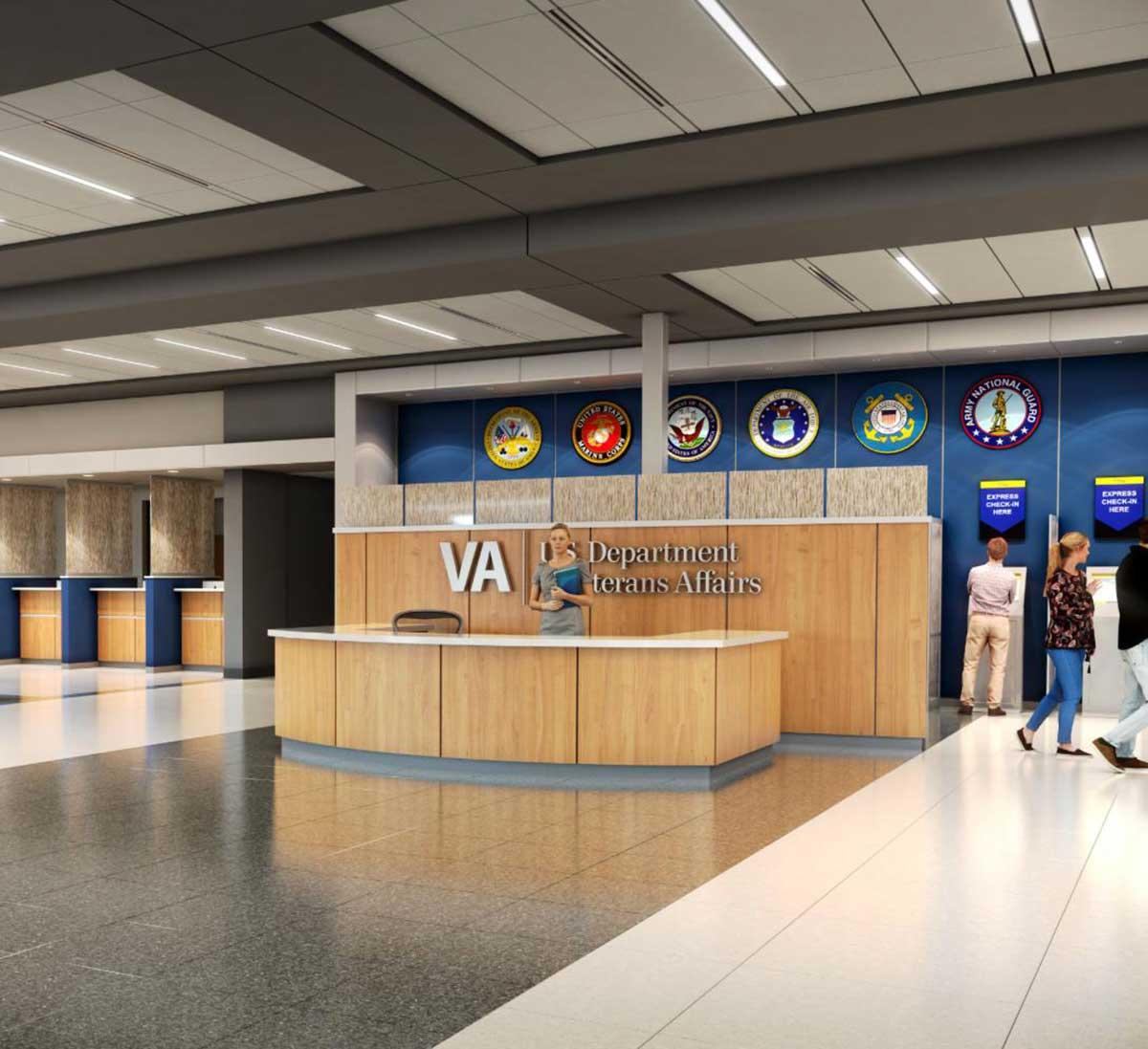 VA Healthcare Clinic,  Des Moines